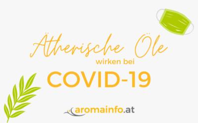 Ätherische Öle wirken bei COVID-19